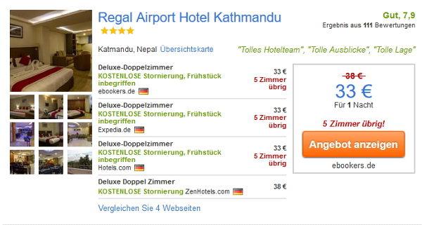4 Sterne Regal Airport Hotel Kathmandu
